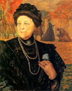 Portrait of a mother in law - Mary Gralewski