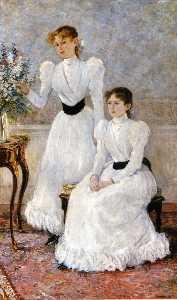 Portrait Judithy und Gabrielle