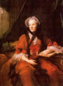 Portrait of Queen Marie Leczinska