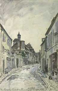 A street in Nevers