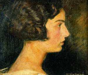 Portrait Of Carmen Mongrell