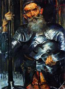 Old Man in Armour