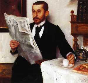 Portrait of the Painter Benno Becker