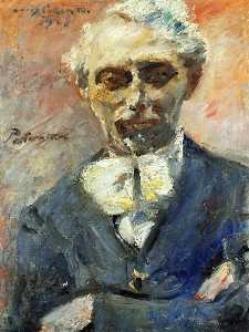 Portrait of the Painter Leonid Pasternak