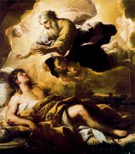 Solomon's wisdom in a dream recevoir