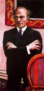 Portrait of Gottlieb Friedrich Reber