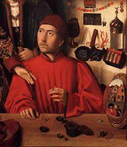 St Eligius in His Workshop 1
