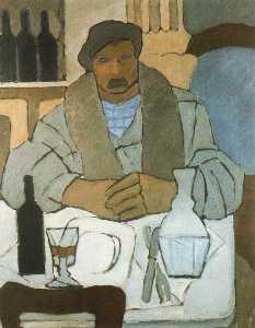 Man in the tavern