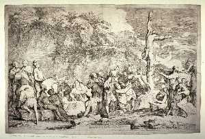 La crucifixion de Polycrate