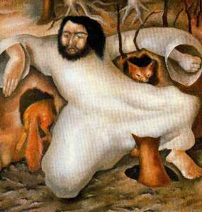 Christ in the Wilderness. The Foxes have holes