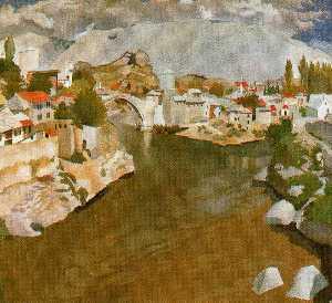 River Nareta, Mostar