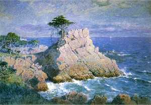 Midway Point, California (aka Cypress Point, near Monterey)