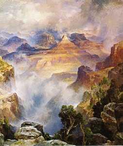 Canyon Mists: Zoroaster Peak [Grand Canyon, Arizona]