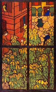 The Chestnut Trees: Project for a Stained-Glass Window