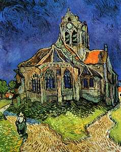 Church at Auvers (also known as The Church at Auvers)
