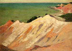 The Clay Cliff, Gay Head, Massachusetts