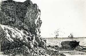 Cliffs and Sea, Sainte-Adresse