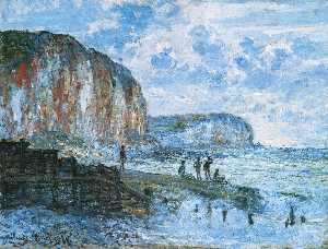 The Cliffs of Les Petites-Dalles