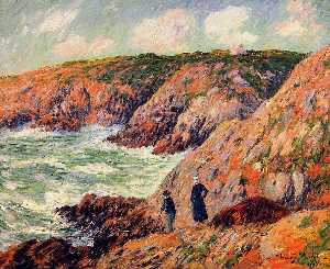 Cliffs of Moellan, Finistere
