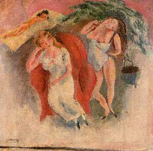 Composition with Three Women