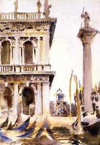 Corner of the LIbreria, Venice