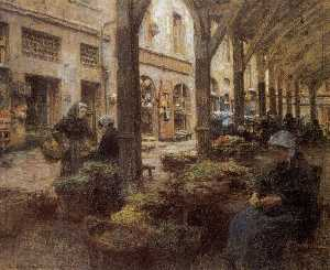 The Covered Vegetable Market, St Malo (no.2)