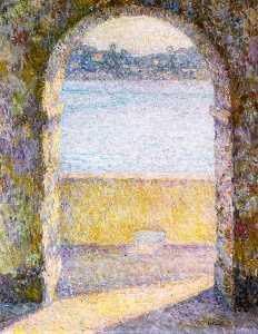 Door on the Sea, Villefranche-sur-Mer