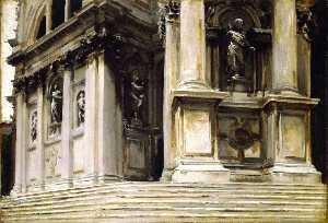 Entrance to Santa Maria della Salute