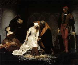 The Execution of Lady Jane Gray