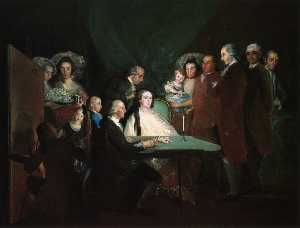 The Family of the Infante Don Luis