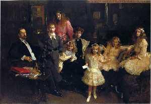 The Family of Rafael Errazuriz