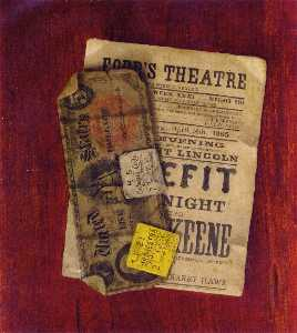 Fife Dollar Bill, Program and Ticket Stubs from Ford's Theater
