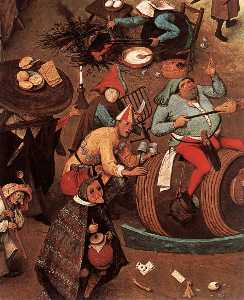 The Fight between Carnival and Lent (detail)