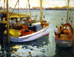 Fishing Boats, L. A. Harbor