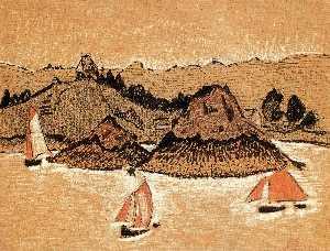 Fishing Boats On The Breton Coast