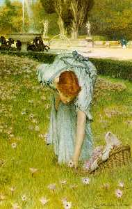 Flora: Spring in the Gardens of the Villa Borghese