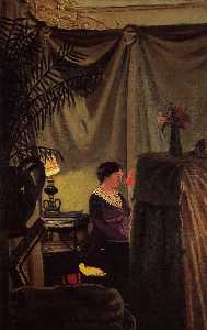 Gabrielle Vallotton at the Piano