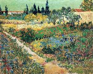 Garden with Flowers