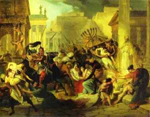 Genserich's Invasion of Rome. Study