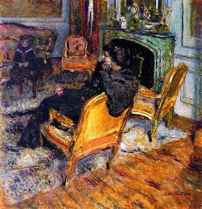 The Gilded Chair, Madame George Feydeau and Her Son