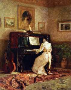 Girl at the Piano (also known as The Piano)