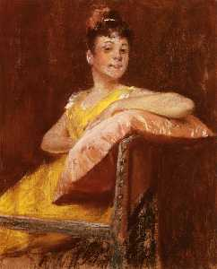 A Girl in Yellow (also known as The Yellow Gown)