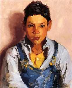 ヤギヘルダー また  知られている  として  メキシコ人  男の子