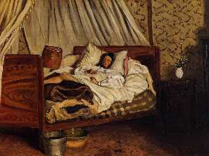 The Improvised Field Hospital (also known as Monet after His Accident at the Inn of Chailly)