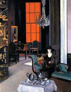 Interior: The Orange Blind