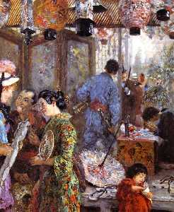 Japanese Painter (also known as At the Japanese Exhibition)