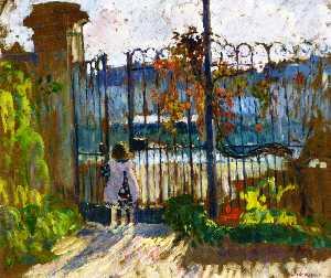 Lagny, Nono at the Garden Gate