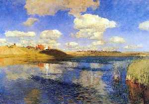 The lake, Russian soil
