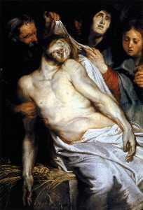 Lamentation (Christ on the Straw)