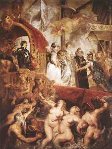 The Landing of Marie de Medici at Marseilles